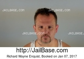 RICHARD WAYNE ENQUIST mugshot picture