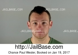 CHANCE PAUL WESTER mugshot picture