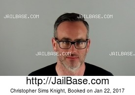 CHRISTOPHER SIMS KNIGHT mugshot picture