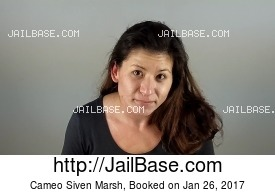 CAMEO SIVEN MARSH mugshot picture