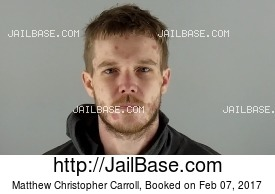 MATTHEW CHRISTOPHER CARROLL mugshot picture