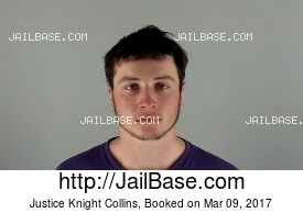 JUSTICE KNIGHT COLLINS mugshot picture