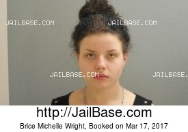 BRICE MICHELLE WRIGHT mugshot picture
