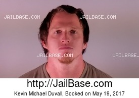 KEVIN MICHAEL DUVALL mugshot picture