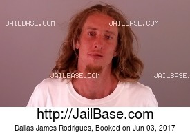 DALLAS JAMES RODRIGUES mugshot picture