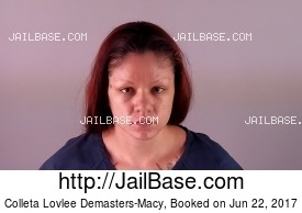 COLLETA LOVLEE DEMASTERS-MACY mugshot picture