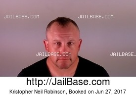 KRISTOPHER NEIL ROBINSON mugshot picture