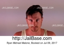 RYAN MICHAEL MALONE mugshot picture