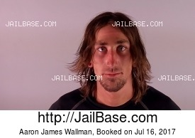 AARON JAMES WALLMAN mugshot picture