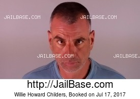 WILLIE HOWARD CHILDERS mugshot picture