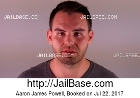 AARON JAMES POWELL mugshot picture
