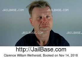CLARENCE WILLIAM WETHERALD mugshot picture