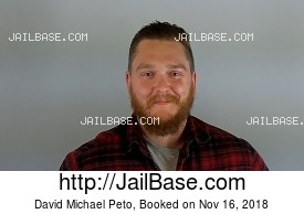 DAVID MICHAEL PETO mugshot picture