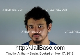 TIMOTHY ANTHONY SWAIN mugshot picture