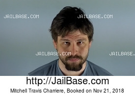 MITCHELL TRAVIS CHARRIERE mugshot picture
