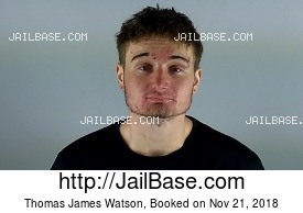 THOMAS JAMES WATSON mugshot picture