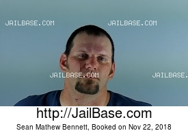 SEAN MATHEW BENNETT mugshot picture