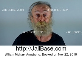 WILLIAM MICHAEL ARMSTRONG mugshot picture