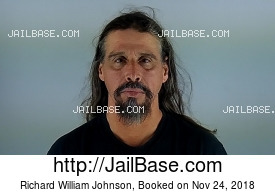 RICHARD WILLIAM JOHNSON mugshot picture