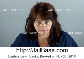 DAPHNE DAWN BANKS mugshot picture