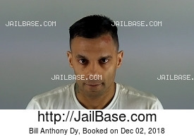 BILL ANTHONY DY mugshot picture