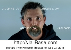 RICHARD TYLER HOLCOMB mugshot picture
