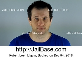 ROBERT LEE HOLQUIN mugshot picture