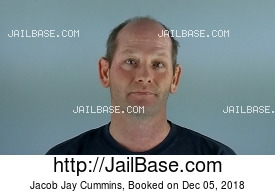 JACOB JAY CUMMINS mugshot picture