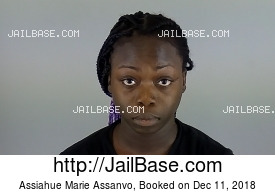 ASSIAHUE MARIE ASSANVO mugshot picture