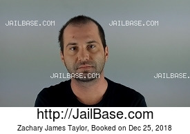 ZACHARY JAMES TAYLOR mugshot picture