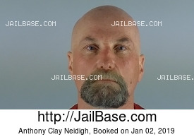 ANTHONY CLAY NEIDIGH mugshot picture