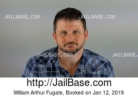 WILLIAM ARTHUR FUGATE mugshot picture