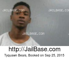 Tyquawn Bears mugshot picture