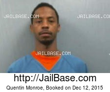 Quentin Monroe mugshot picture