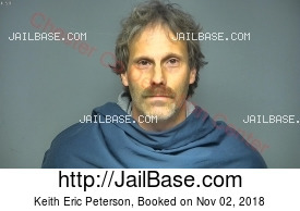 KEITH ERIC PETERSON mugshot picture
