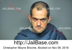 CHRISTOPHER WAYNE BROOME mugshot picture