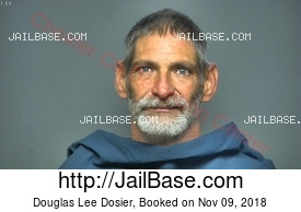 DOUGLAS LEE DOSIER mugshot picture