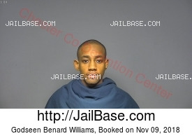GODSEEN BENARD WILLIAMS mugshot picture