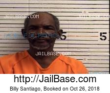 Billy Santiago mugshot picture