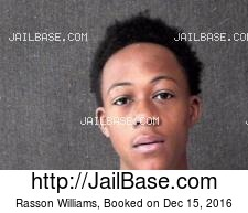 Rasson Williams mugshot picture