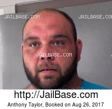 Anthony Taylor mugshot picture