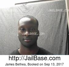 James Bethea mugshot picture