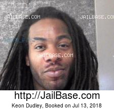 Keon Dudley mugshot picture
