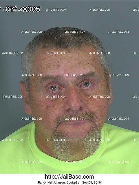 Randy Neil Johnson mugshot picture