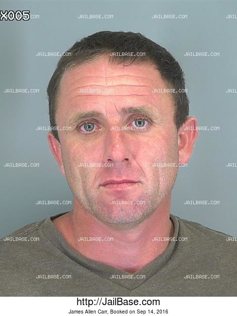 James Allen Carr mugshot picture
