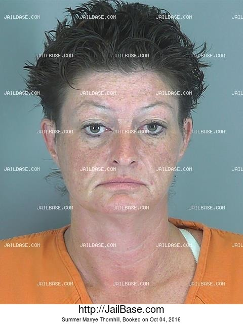 Summer Marrye Thornhill mugshot picture
