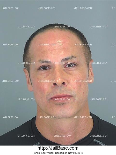 Ronnie Lee Wilson mugshot picture