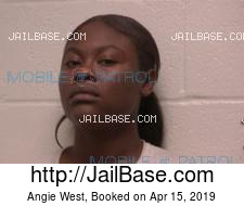Angie West mugshot picture