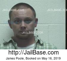 James Poole mugshot picture