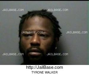 TYRONE WALKER mugshot picture
